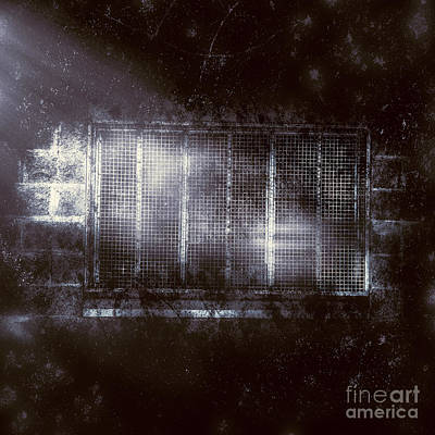 Haunted Asylum Window Art Print by Jorgo Photography - Wall Art Gallery