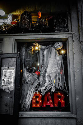 Photograph - Haunted Bar by Louis Maistros