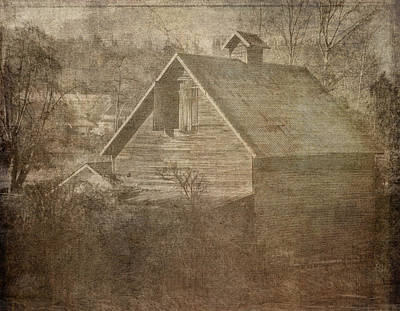 Photograph - Haunted Barn by Ron Roberts