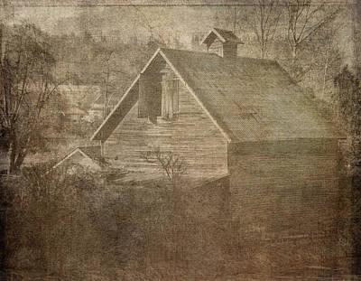 Photograph - Haunted Barn by Ron Roberts