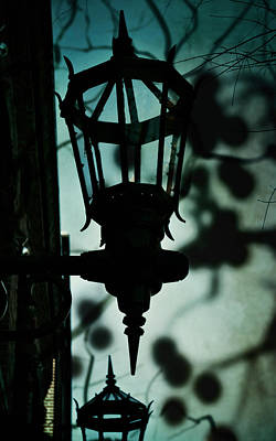Gas Lamp Photograph - Haunted By You by Sharon Kalstek-Coty