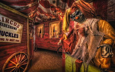 Photograph - Haunted Circus by Daniel George