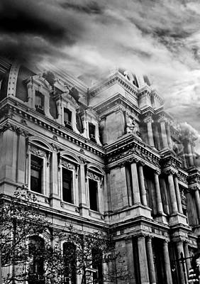 Photograph - Haunted Philadelphia by Elvira Pinkhas