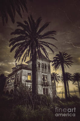 Old House Photograph - Haunted House by Carlos Caetano