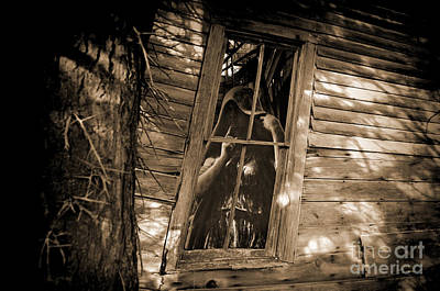 Photograph - Haunted House by David Arment