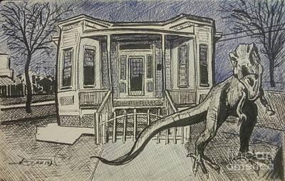 Haunted House Original by Jude Darrien