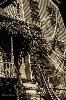 Fear Photograph - Haunted House by LeeAnn McLaneGoetz McLaneGoetzStudioLLCcom