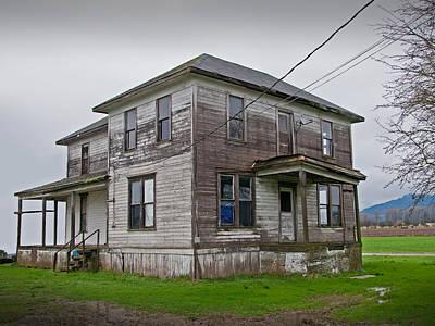 Haunted House Of Skagit County Art Print by Kent Sorensen