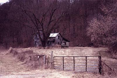 Haunted House Original by Scott Perkins
