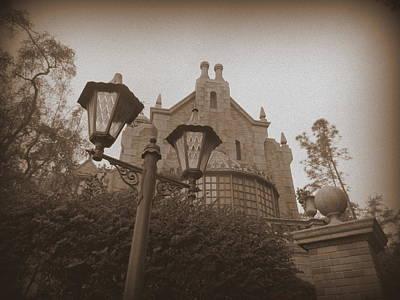 Haunted Mansion Mixed Media - Haunted Mansion- Exterior by No Ordinary Moments