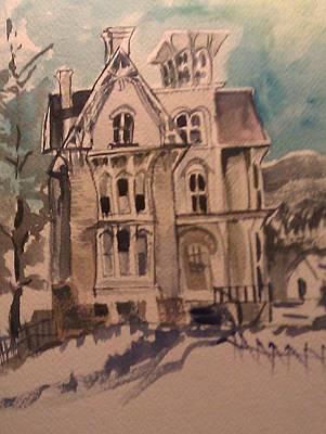 Haunted Art Print by Susan Mumma