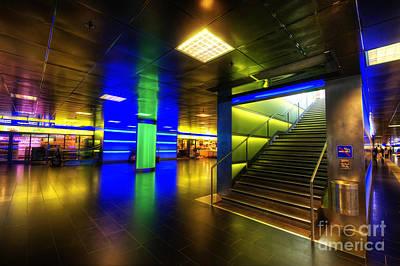 Photograph - Hauptbahnhof Underground by Yhun Suarez