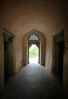 Photograph - Hauz Khas Doorway by Dave Hall