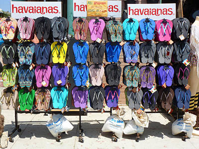 Photograph - Havaianas by Nancy Merkle