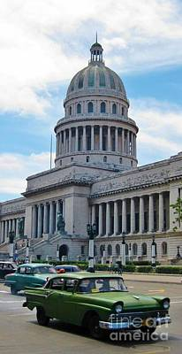 Thomas Kinkade Royalty Free Images - Havana Capitol Building Royalty-Free Image by John Malone
