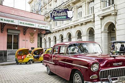 Photograph - Havana Cuba Classic Car by Tina Manley