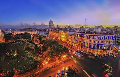 Wesley Allen Photograph - Havana Cuba by Wesley Allen Shaw