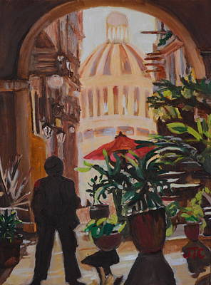 Painting - Havana by Julie Todd-Cundiff