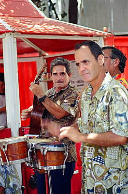 Havana Musical Trio Original by Hugh Peralta