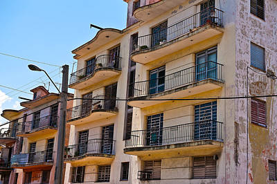 Photograph - Havana Neighborhood by Marek Poplawski