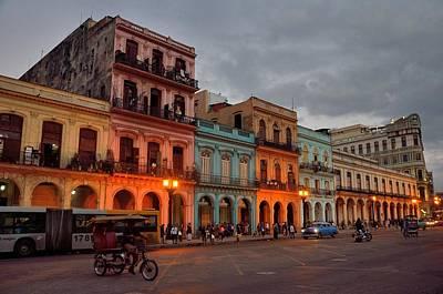 Landscape Photograph - Havana Nocturne by Steven Richman