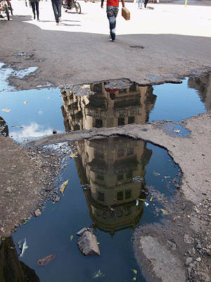 Photograph - Havana Reflections by Robert Watson