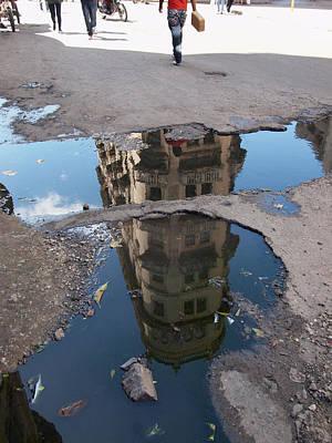 Photograph - Havana Reflections by Robert Watson
