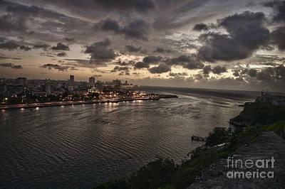 Havana Sunset Art Print