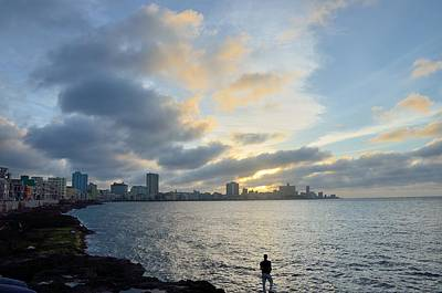 Landscape Photograph - Havana Sunset by Steven Richman