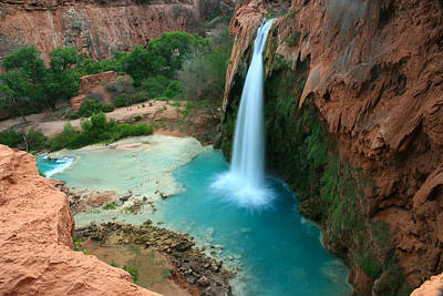 Havasu Falls Morning Art Print by Scott Cunningham