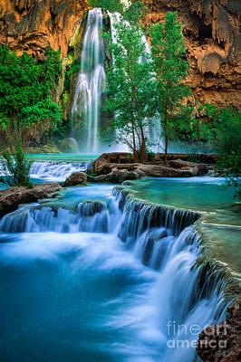 Havasupai Photograph - Havasu Paradise by Inge Johnsson