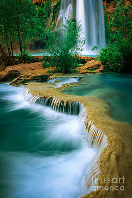 Havasupai Photograph - Havasu Travertine by Inge Johnsson