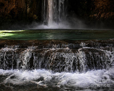Havasupai - Moony Falls Art Print by Lovejoy Creations