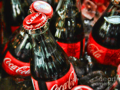 Have A Coke And Give A Smile By Diana Sainz Art Print