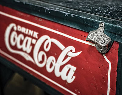 Photograph - Have A Coke And Smile by Andy Crawford