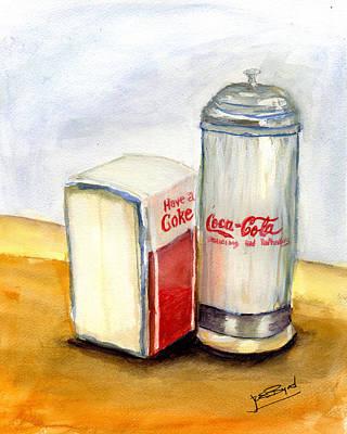Colorful Button - Have a Coke by Joe Byrd