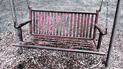 Abstract Photograph - Have A Seat by Francesco Plazza