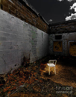 Photograph - Have A Seat by Ken Frischkorn