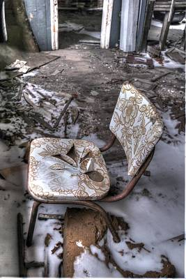 Photograph - Have A Seat by Michaela Preston