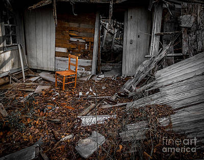 Photograph - Have A Seat Two by Ken Frischkorn