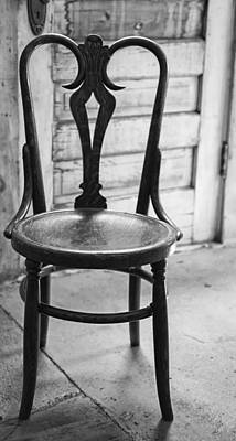 Have A Seat With History Art Print by Thomas Young