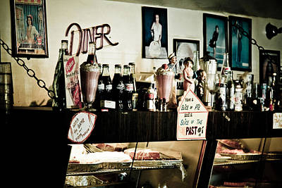 Peggy Sues Diner Photograph - Have A Slice Of Pie by Ellen and Udo Klinkel