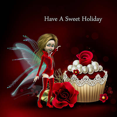 Have A Sweet Holiday Original by John Junek