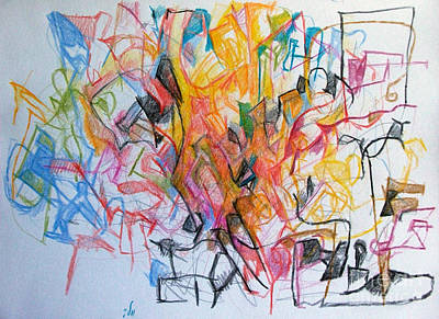 Creativity Drawing - Have You Come To Realize That You Are Perhaps The Most Important Element Here 1 by David Baruch Wolk
