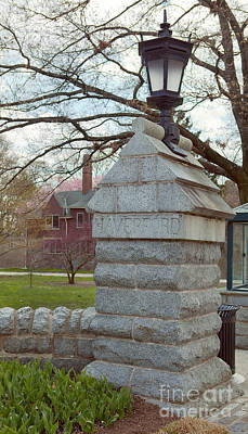Photograph - Haverford College Entrance by Kay Pickens