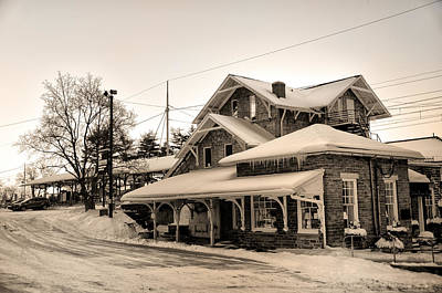 Haverford Station Art Print by Bill Cannon