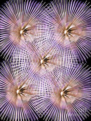 Pyrotechnics Digital Art - Having A Blast by Steve Purnell