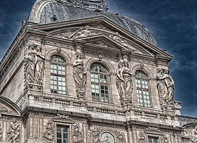 Having Fun At The Louvre Paris Original
