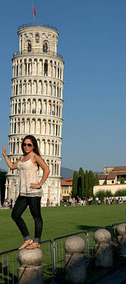 Photograph - Having Fun In Pisa by Caroline Stella