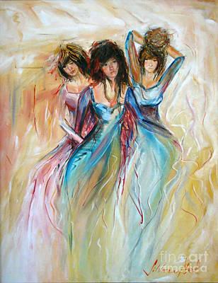 Painting - Having Fun by Silvana Abel